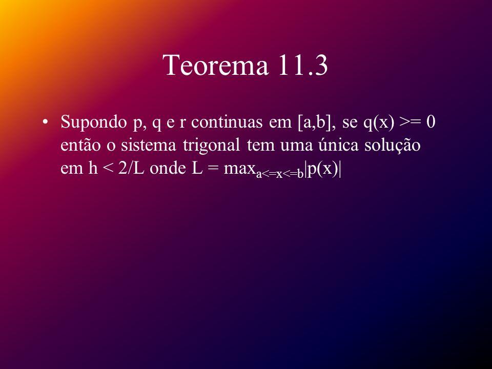 Equação diferencial parcial elíptica Equação de Poisson: 2 u(x,y) 2 u/ x 2 (x,y) + 2 u/ y 2 (x,y) = f(x,y), para (x,y) R u(x,y) = g(x,y) para (x,y) S onde R = {(x,y)|a<x<b, c<y<d} e S denota o contorno de R Método usado é uma adaptação do método de diferenças finitas