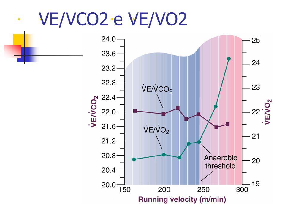.... VE/VCO2 e VE/VO2