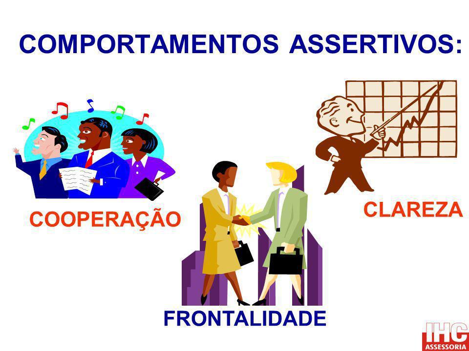 COMPORTAMENTOS ASSERTIVOS: COOPERAÇÃO FRONTALIDADE CLAREZA