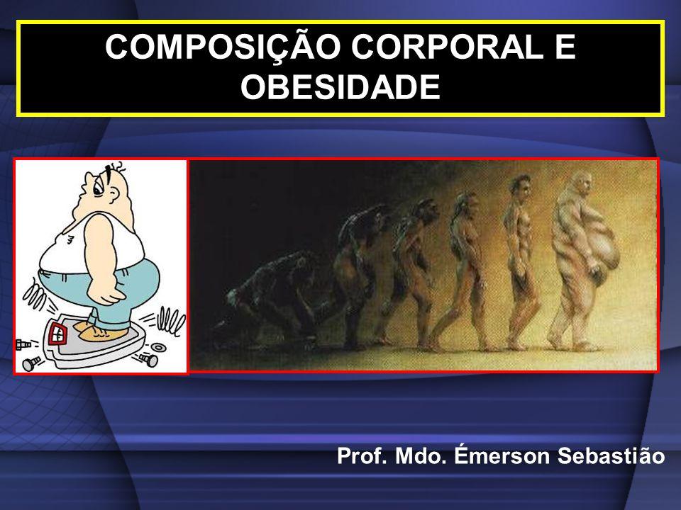 COMPOSIÇÃO CORPORAL E OBESIDADE Prof. Mdo. Émerson Sebastião