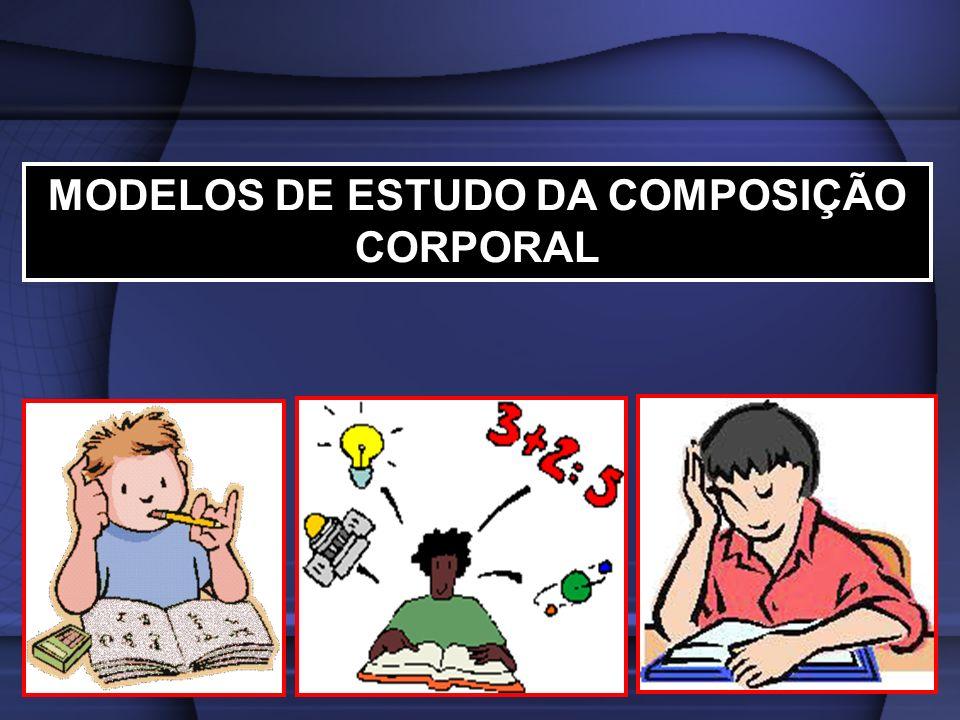 MODELOS DE ESTUDO DA COMPOSIÇÃO CORPORAL