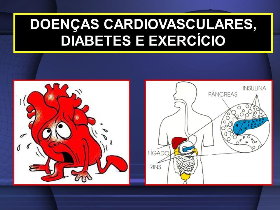 DOENÇAS CARDIOVASCULARES, DIABETES E EXERCÍCIO