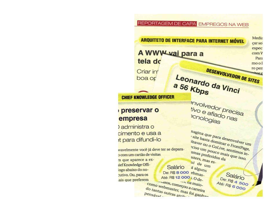 Veja, 13-9-2000, OESP 23-10-2000, Info fev 2000, abril 2001