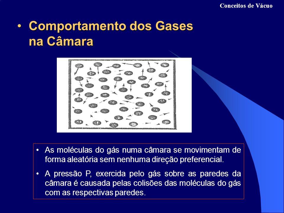 Comportamento dos Gases na CâmaraComportamento dos Gases na Câmara As moléculas do gás numa câmara se movimentam de forma aleatória sem nenhuma direção preferencial.