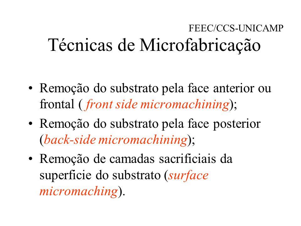 Motivação: Crescente interesse em microssistemas integrados.