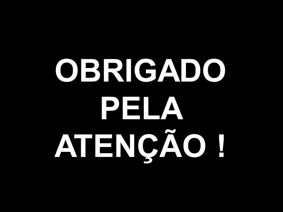 OBRIGADO PELA ATENÇÃO !