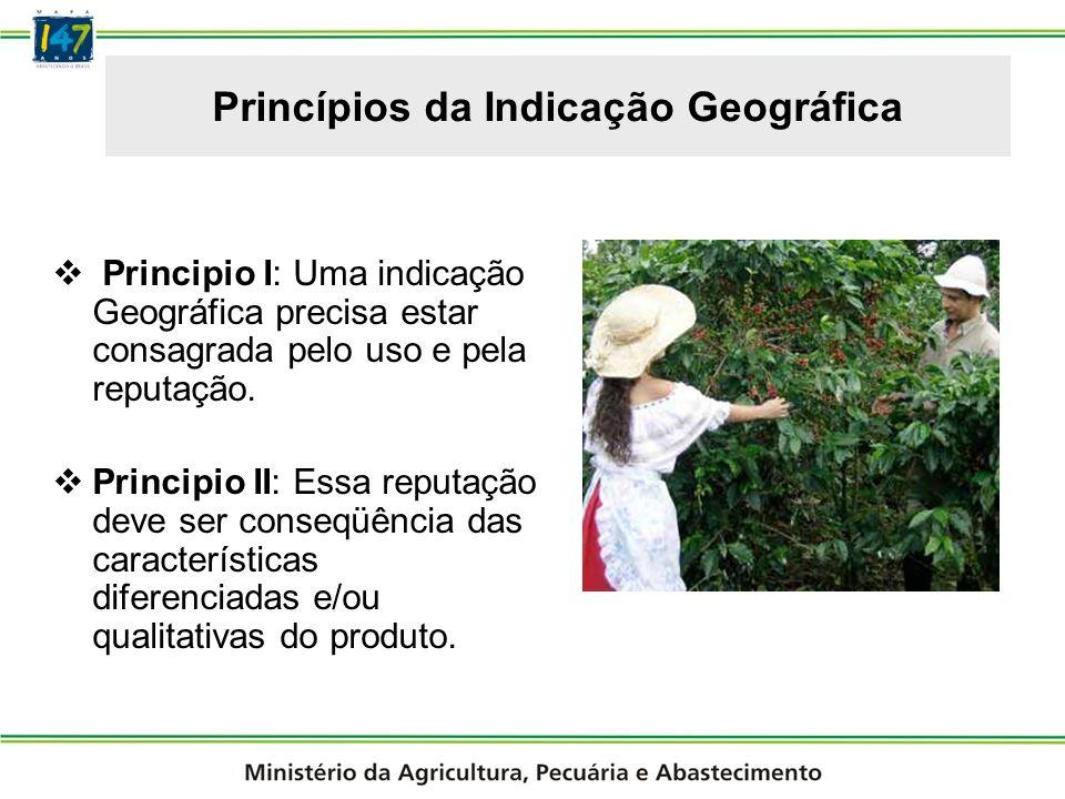 Objetivos da Indicação Geográfica Garantia de autenticidade.