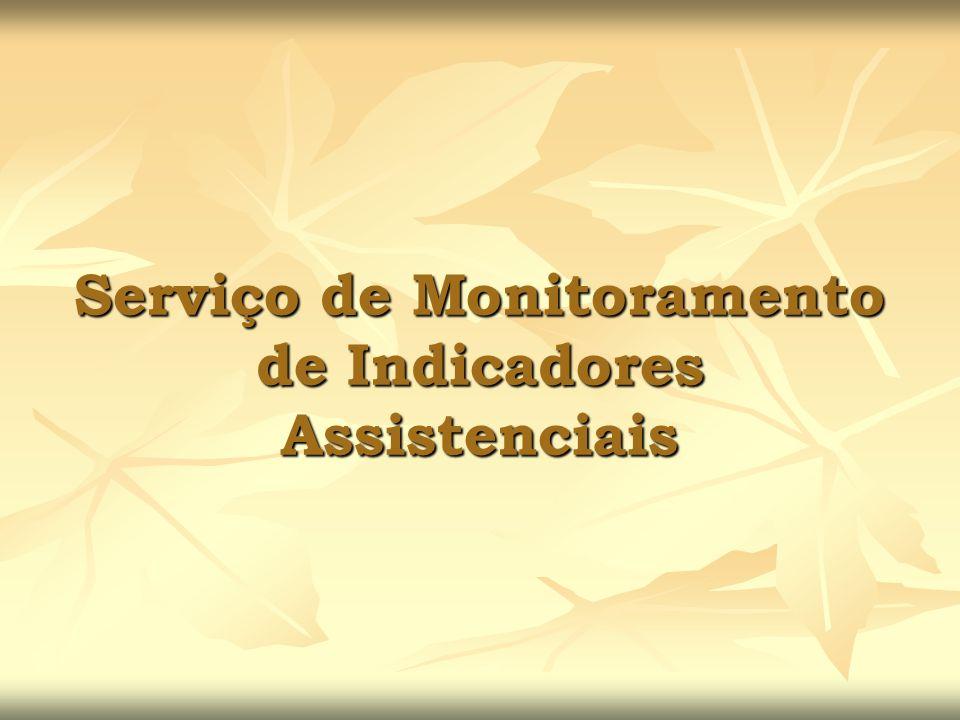 Serviço de Monitoramento de Indicadores Assistenciais