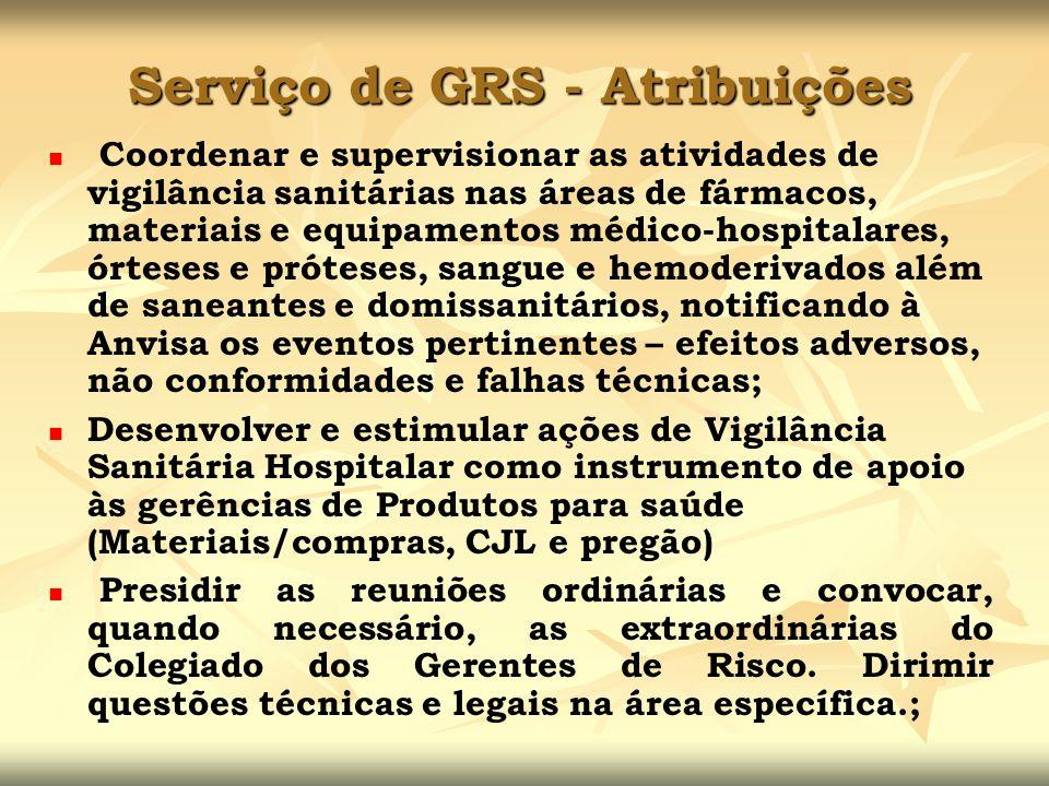 Coordenar e supervisionar as atividades de vigilância sanitárias nas áreas de fármacos, materiais e equipamentos médico-hospitalares, órteses e prótes