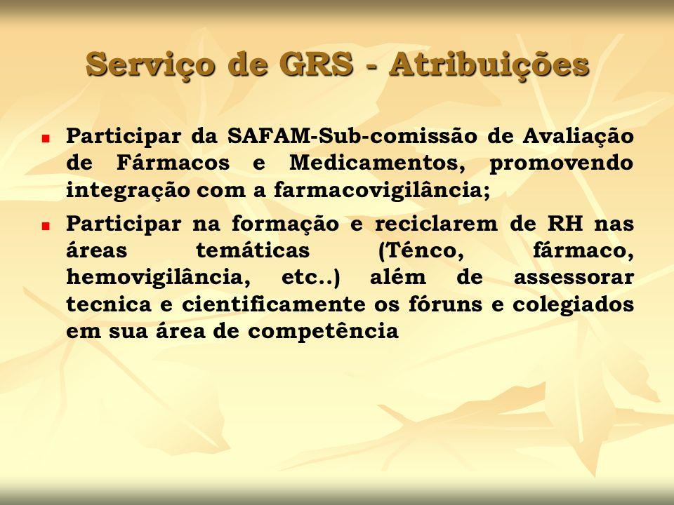 Participar da SAFAM-Sub-comissão de Avaliação de Fármacos e Medicamentos, promovendo integração com a farmacovigilância; Participar na formação e reci