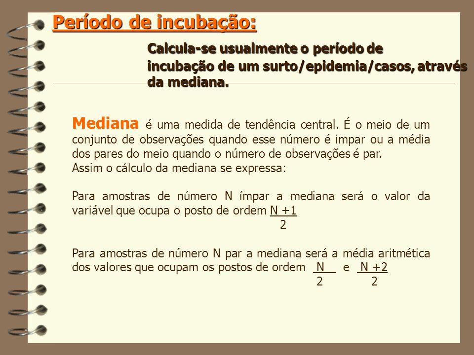 Mediana é uma medida de tendência central. É o meio de um conjunto de observações quando esse número é impar ou a média dos pares do meio quando o núm