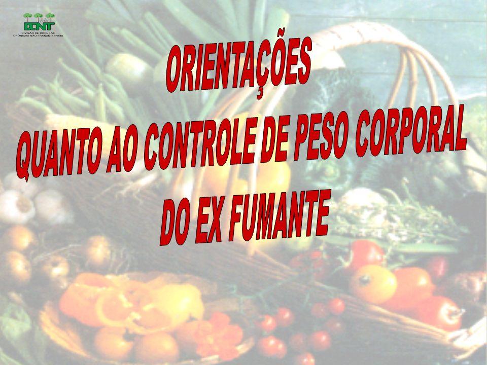 J Recomendações...Refeições ligeiras com alimentos de menor densidade energética...