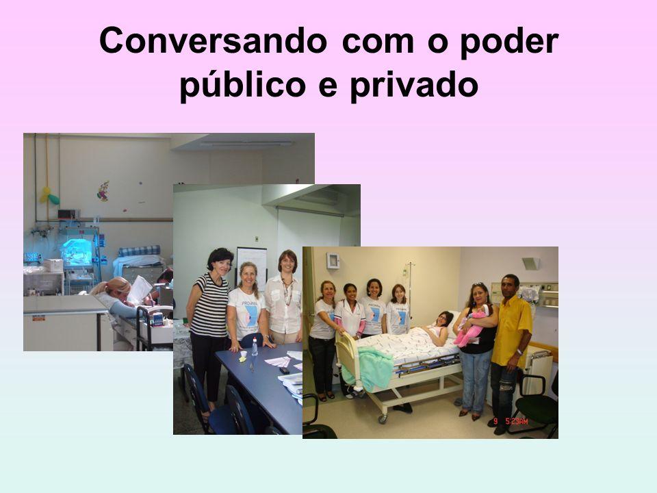 Conversando com o poder público e privado