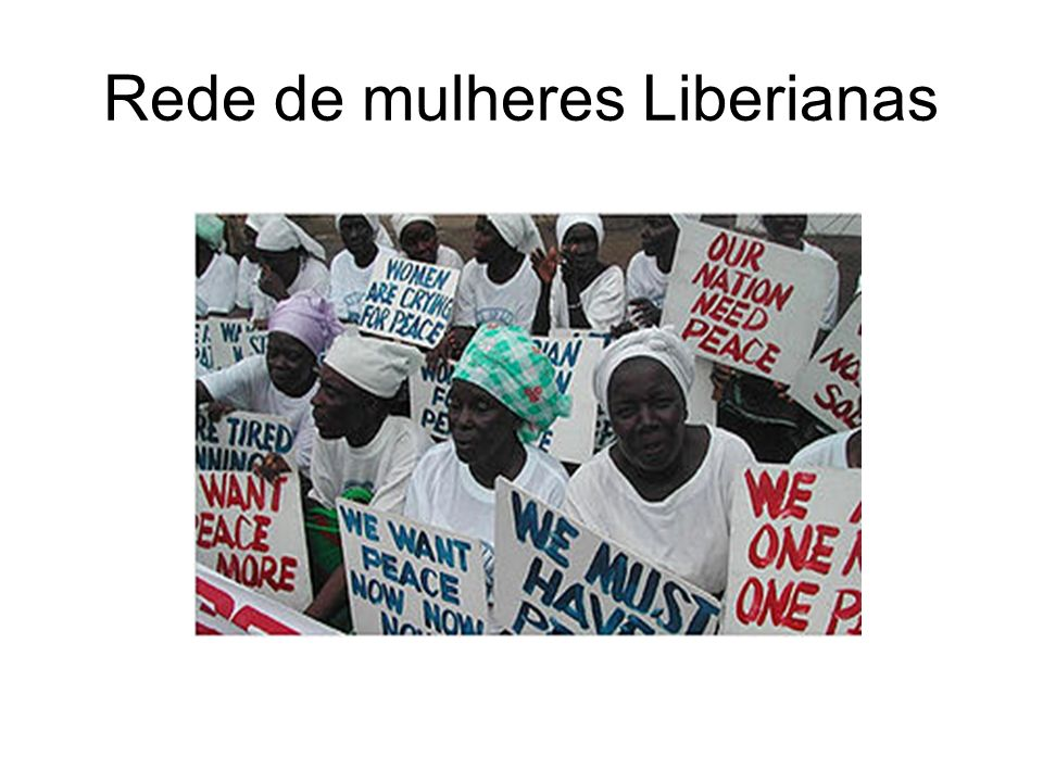 Rede de mulheres Liberianas