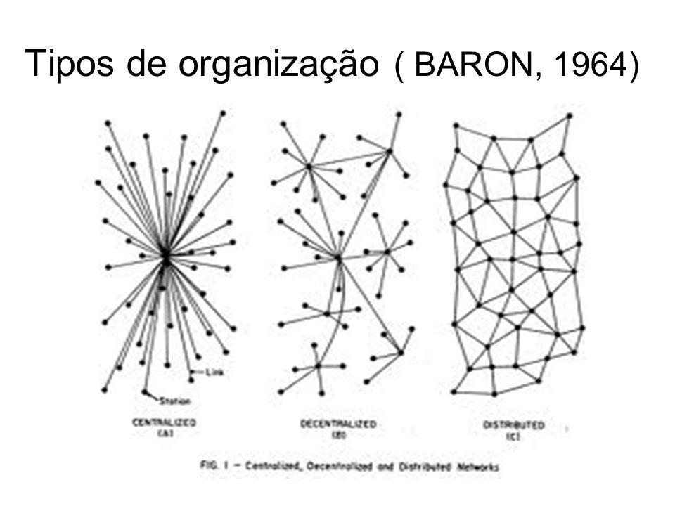 Tipos de organização ( BARON, 1964)