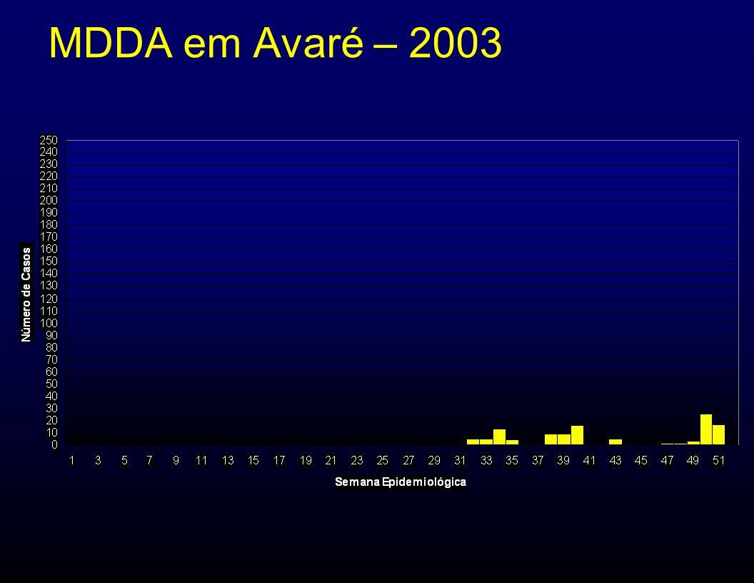MDDA em Avaré – 2003