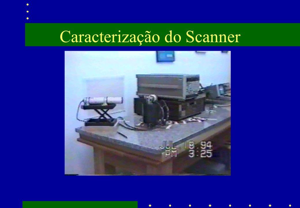 Caracterização do Scanner