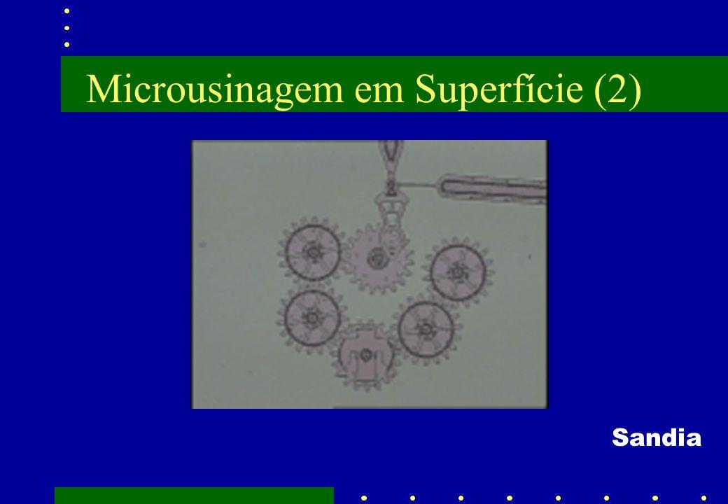 Microusinagem em Superfície (2) Sandia