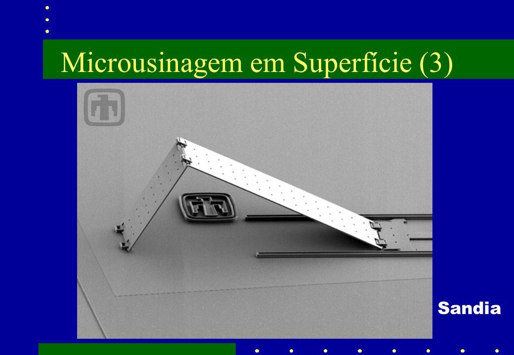 Microusinagem em Superfície (3) Sandia