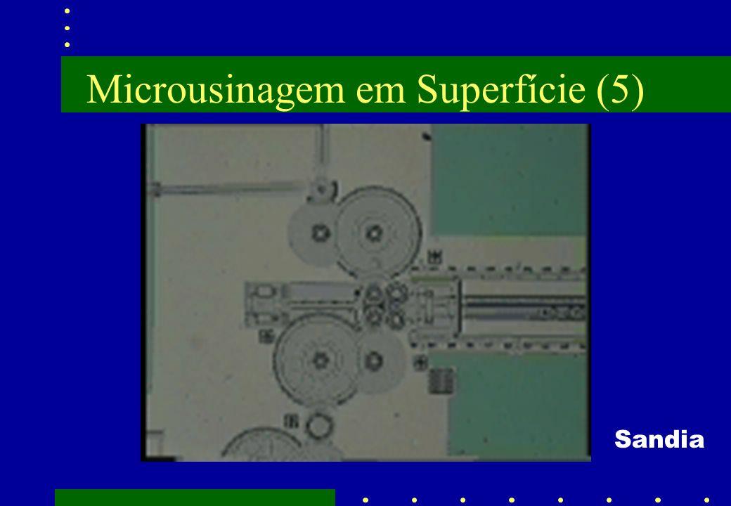 Microusinagem em Superfície (5) Sandia