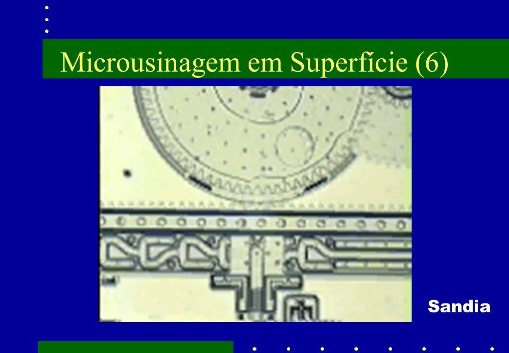 Microusinagem em Superfície (6) Sandia