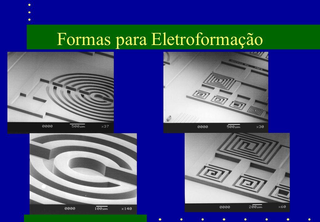 Formas para Eletroformação