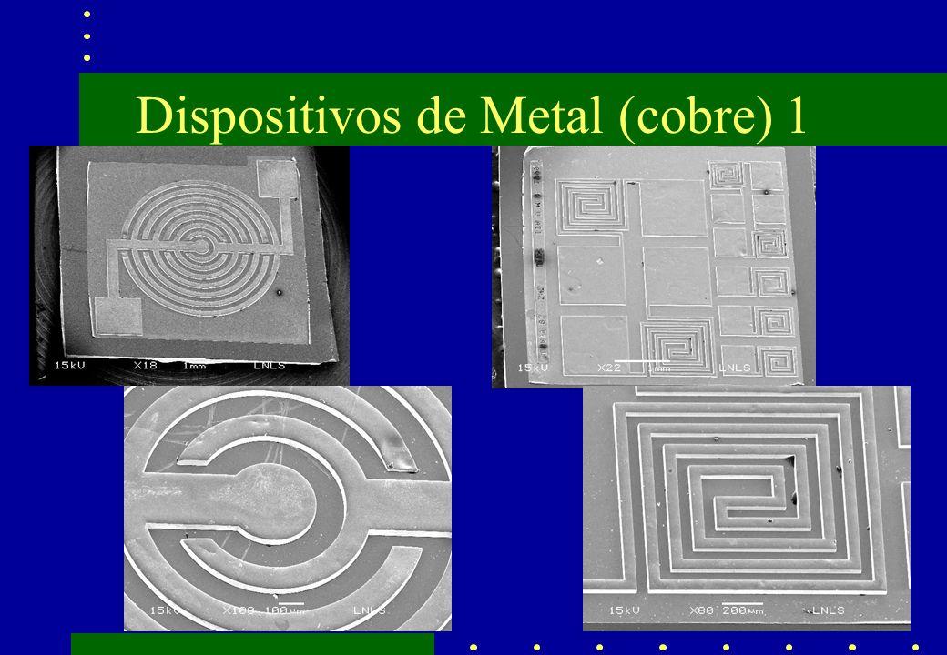 Dispositivos de Metal (cobre) 1