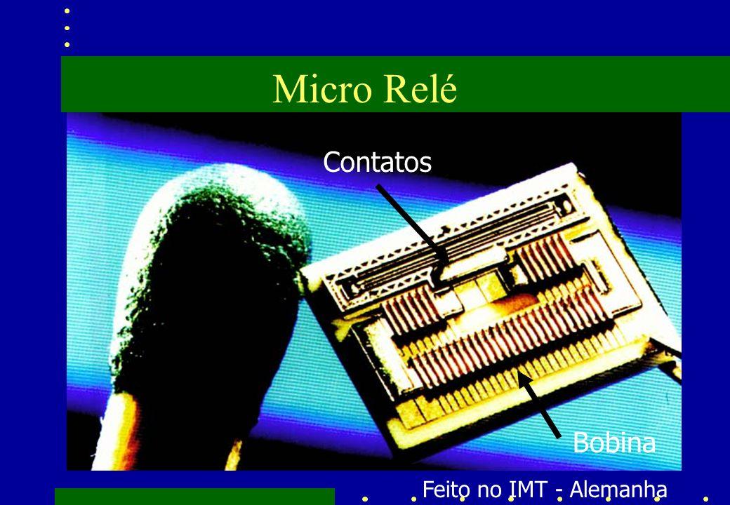 Micro Relé Contatos Bobina Feito no IMT - Alemanha