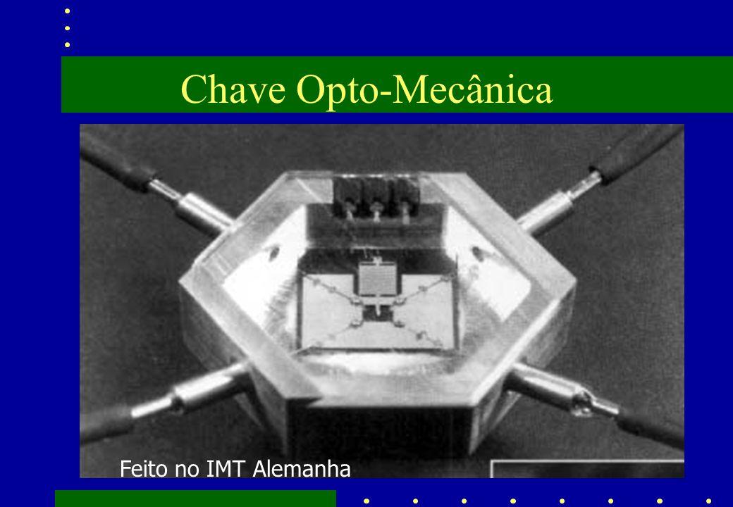 Chave Opto-Mecânica Feito no IMT Alemanha