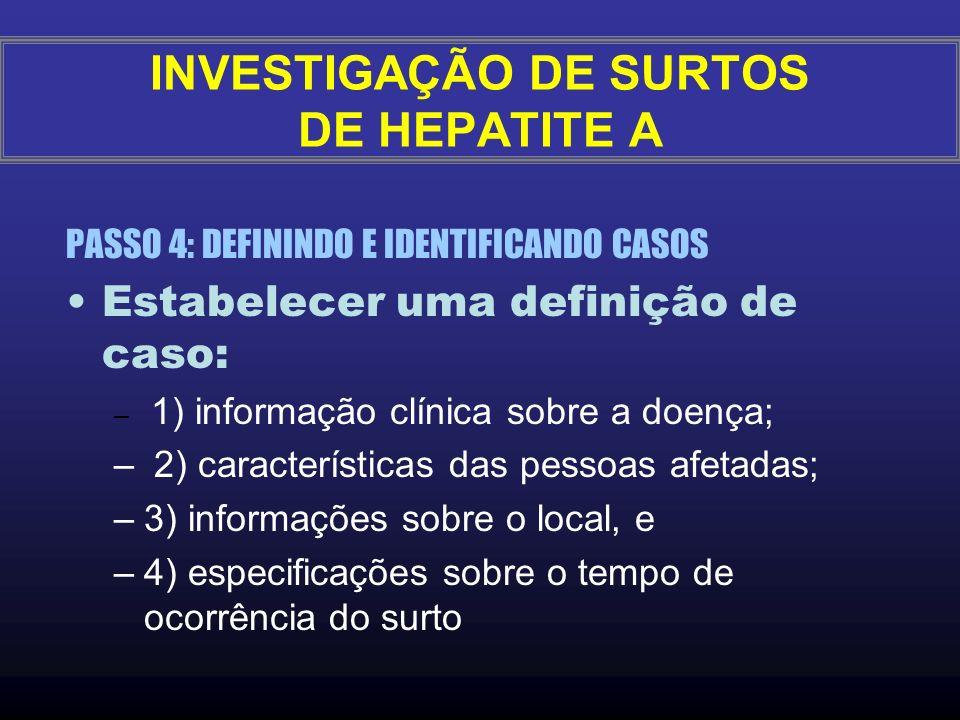 Quais os diagnósticos diferenciais para Hepatite A? –Síndromes ictéricas (colestase reacional por bacteremias, leptospirose ictérica leve, hepatites p