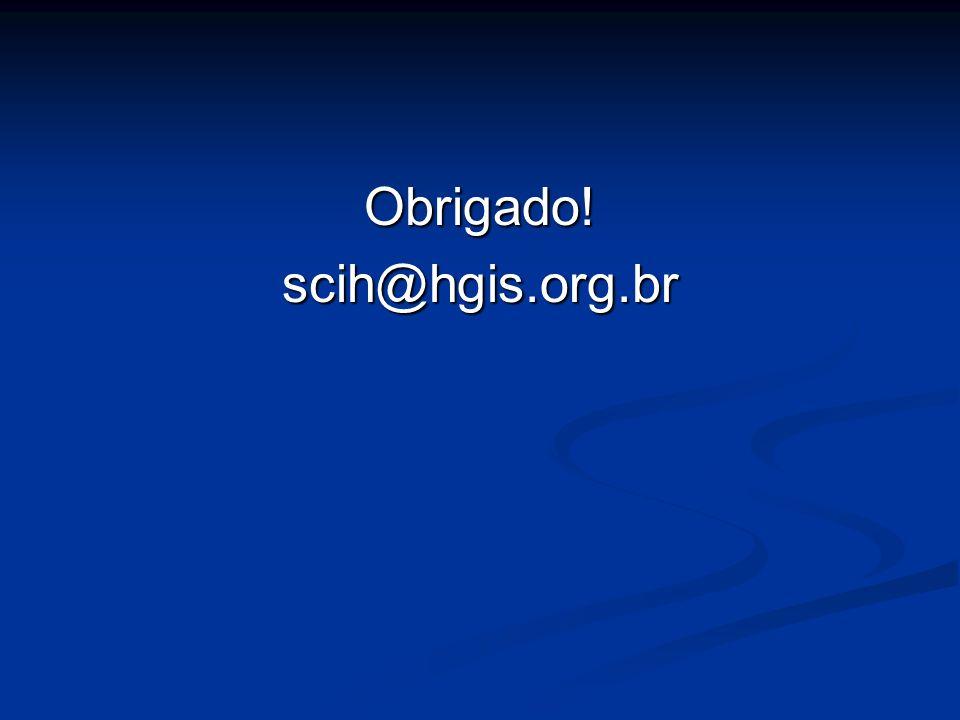 Obrigado!scih@hgis.org.br