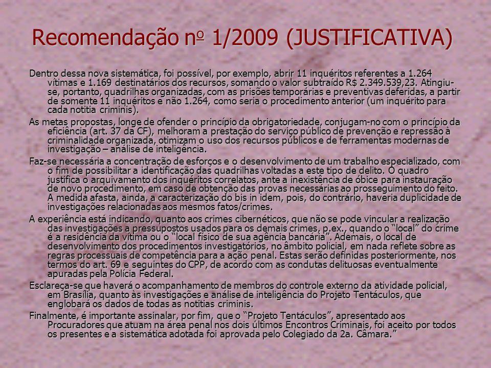 Comissão Projeto Tentáculos Instituída, em 7/6/2010, na 4 a Sessão de Coordenação da Segunda 2 a CCR/MPF.