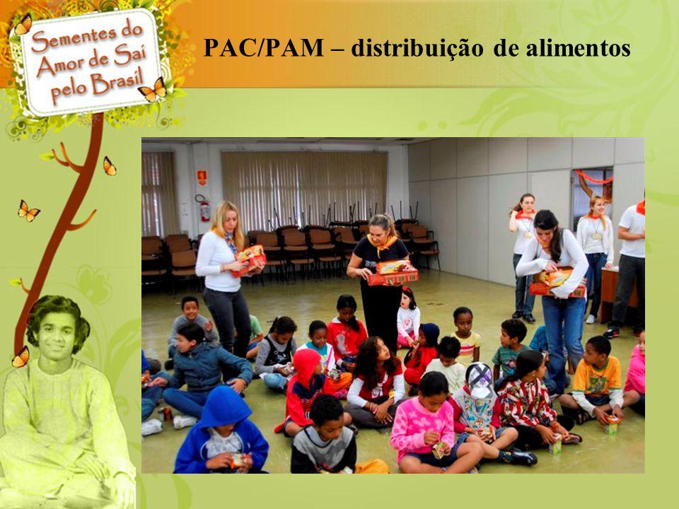 PAC/PAM – distribuição de alimentos
