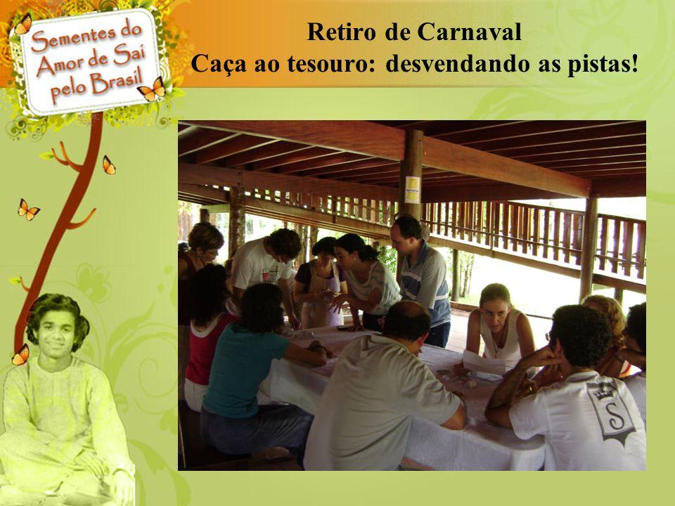 Retiro de Carnaval Caça ao tesouro: desvendando as pistas!