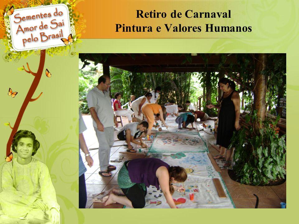 Retiro de Carnaval Pintura e Valores Humanos