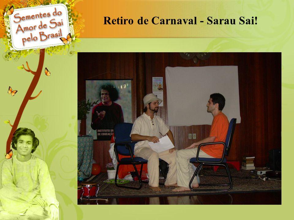 Retiro de Carnaval - Sarau Sai!
