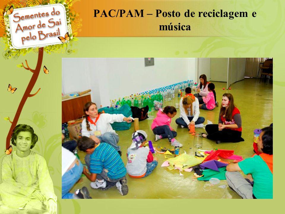 PAC/PAM – Posto de reciclagem e música