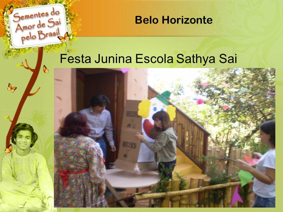 Belo Horizonte Festa Junina Escola Sathya Sai