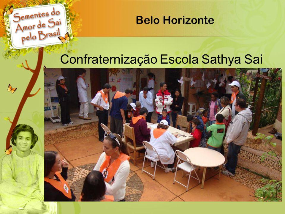 Belo Horizonte Confraternização Escola Sathya Sai