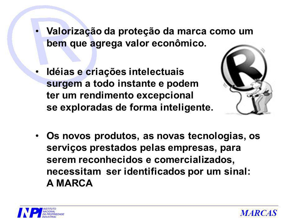 MARCAS Formulário de Pedido de Marca O formulário eletrônico e o manual de preenchimento de um pedido via e-marcas está disponível em: www.inpi.gov.br