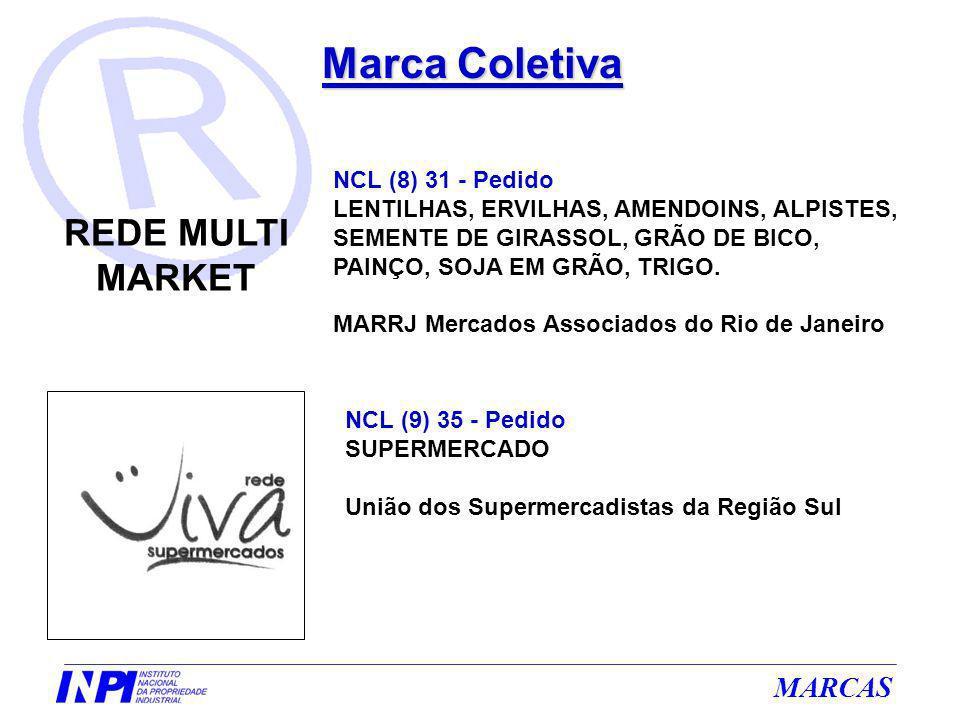 MARCAS Marca Coletiva NCL (8) 31 - Pedido LENTILHAS, ERVILHAS, AMENDOINS, ALPISTES, SEMENTE DE GIRASSOL, GRÃO DE BICO, PAINÇO, SOJA EM GRÃO, TRIGO. MA