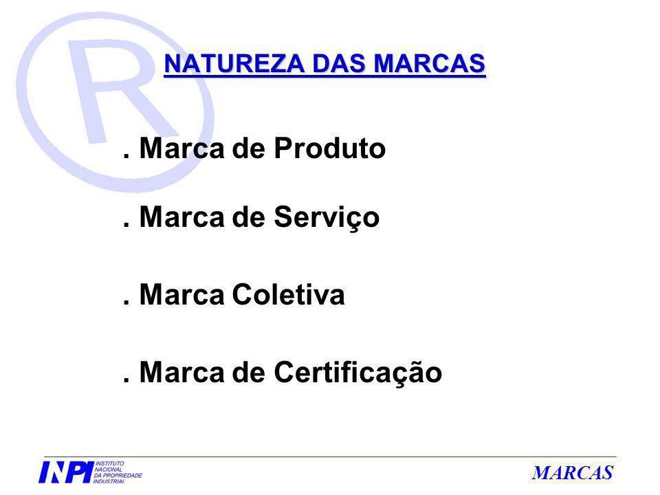 MARCAS Sinal que induza a falsa indicação quanto à origem, procedência, natureza, qualidade ou utilidade do produto ou serviço a que a marca se destina.(Inc.