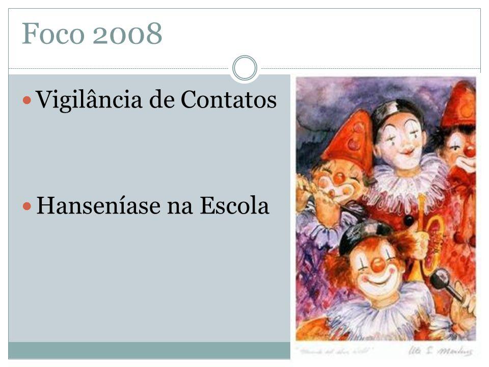Vigilância de Contatos Hanseníase na Escola Foco 2008