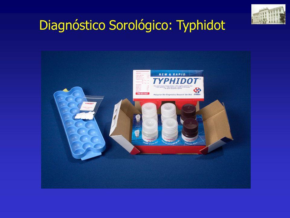 Diagnóstico Sorológico: Typhidot