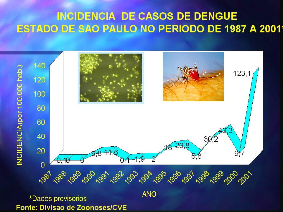 Situação Epidemiológia Dengue