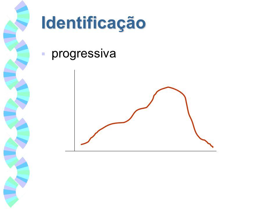 Identificação progressiva