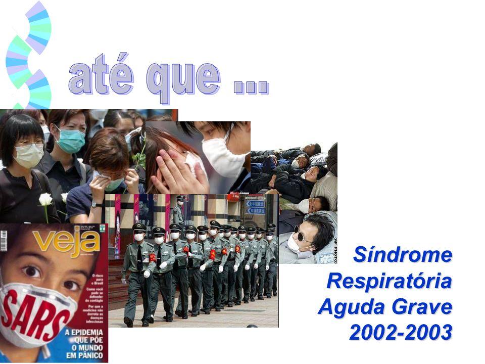 Síndrome Respiratória Aguda Grave 2002-2003