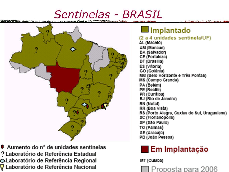 Sentinelas - BRASIL