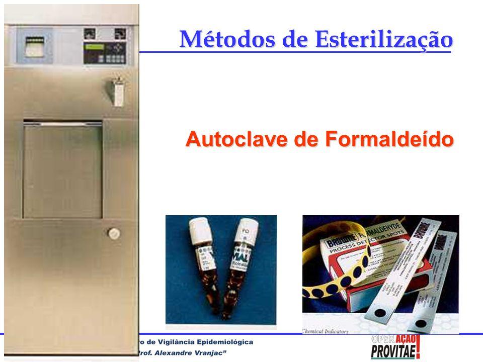 Autoclave de Formaldeído Métodos de Esterilização