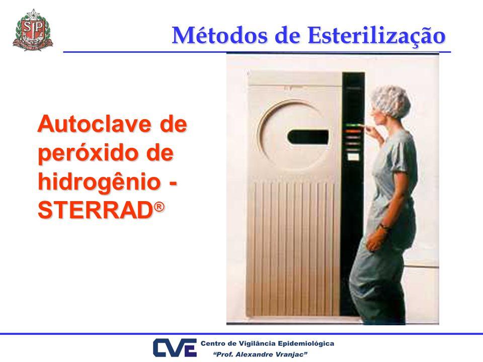 Autoclave de peróxido de hidrogênio - STERRAD ® Métodos de Esterilização